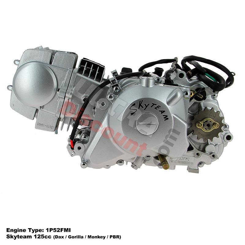 Motor 125 Dax Skyteam mit elektrischen Anlasser 1P52FMI, Dax Skyteam ...