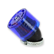Luftfilter Racing für Quad Shineray 300 ccm (Ø 40 mm), blau