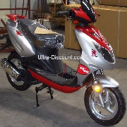 Scooter aus China 125 ccm, rot